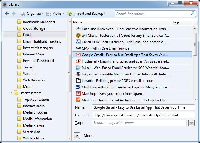 Mozilla Firefox Library